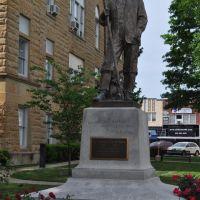 Dr Andrew Taylor Still, bronze, Kirksville, MO, Кирксвилл