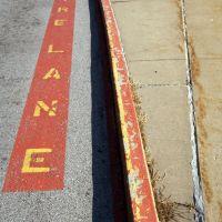 Dont park here, Клэйтон