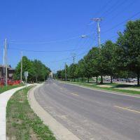 Looking Northwest up Ashland Road, Columbia, MO, Колумбия