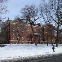Snow at University of Missouri, Колумбия