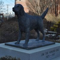 Jim the Wonder Dog, Jim the Wonder Dog Memorial Garden, Marshall, MO, Маршалл