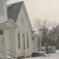 Bronaugh Methodist Church in Winter, Маундвилл