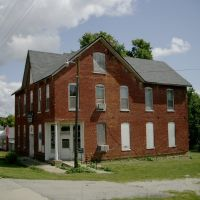 Abandoned Vichy, MO Masonic Lodge, Метц
