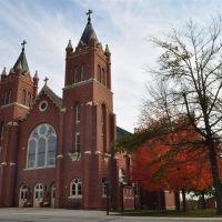 Holy Family Catholic Church, Freeburg, MO, Метц