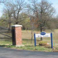 Entrance Gate to the B.I.L. Lodge, Невада