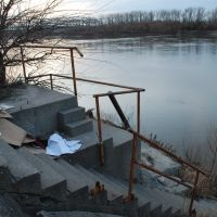 Steps on the Missouri river, Норт-Канзас-Сити