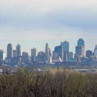 Kansas City, Missouri Skyline From North, Нортмур