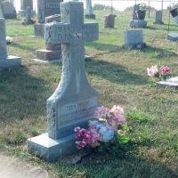 Mark Dinning grave., Нью-Блумфилд