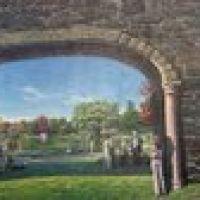 Newburgh NY Trestle Mural Panorama, Ньюбург