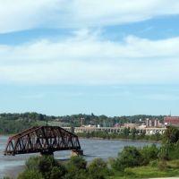 Missouri River at St. Joseph, Missouri, Олбани (Генри Кантри)