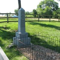 Jesse James marker, Олбани (Генри Кантри)