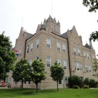 Grundy County Court House, Trenton, MO, Олбани (Генри Кантри)