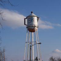 Stanton Iowa coffee Pot Water Tower, Олбани (Генри Кантри)