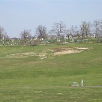 Amelia Earhart earthworks - early spring, Atchison, KS, Олбани (Рэй Кантри)