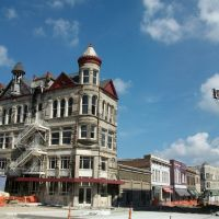 historic building being renovated, Sedalia, MO, Пакифик