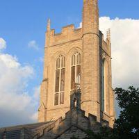 church in sunset, Ричмонд Хейгтс