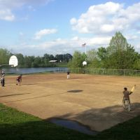 Cricket field in Schumann park, Ролла