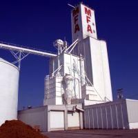 Columbia elevator (Missouri Farmers Association), Рэйтаун