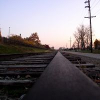 On the Railroad, Katy Trail, Frontier Park, Saint Charles, MO, Сант-Чарльз