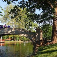 Liberty Park Lagoon Bridge, Sedalia MO, Седалиа