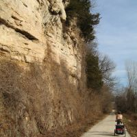 Katy Trail East of Boonville, Седар-Сити