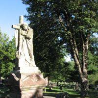Mount Mora Cemetery Statue, Сент-Джозеф