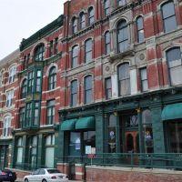 downtown buildings, St Joseph, MO, Сент-Джозеф