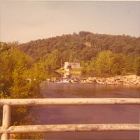 View of the water plant at Ft. Leonard Wood,Mo.1970, Флат Ривер