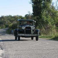 Oldtimer (Classic Car ) on Route 66, Харвуд