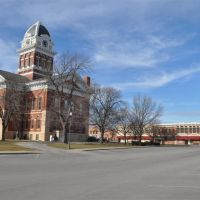 Saline County courthouse, Marshall, MO, Хунтлейг