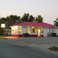 Carterville Cafe on old route 66, Эйрпорт-Драйв