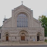 40) Battle Creek MI, Capital Ave - St Philip Catholic Church [G10], Баттл Крик