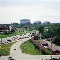 I-696 from Embassy Suites, Бингам-Фармс