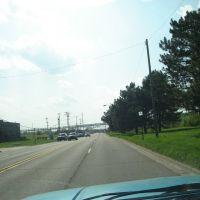 westbound on Robert T. Longway Boulevard, Бичер