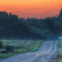 Eitzen Road at Dawn, Виоминг