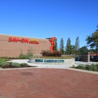 Downtown Garden City Welcome Sign, Ford Road & Middlebelt Road, Garden City, Michigan, Гарден-Сити
