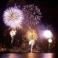 Target Fireworks, Detroit, MI, US, Детройт