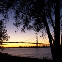 Ambassador Bridge, Windsor - Detroit, Детройт