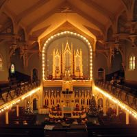 St. John-St. Luke interior, Детройт