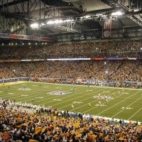Opening Kickoff - Super Bowl XL - Ford Field, Детройт