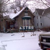 House Astrid in Cass Corridor Detroit Michigan USA, Детройт