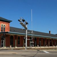 Amtrak Station, Jackson, MI, October 2011, Джексон