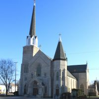 Saint Johns Catholic Church historic site, 1857, 711 North Cooper Street, Jackson, Michigan, Джексон