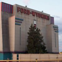 Ford-Wyoming Drive through enterance, Дирборн