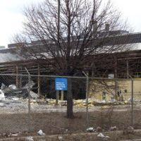 last days of the DeSoto Press Shop / LaSalle / Saxon / Chrysler Glass Plant, Дирборн