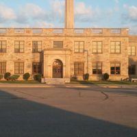 Fordson east side entrance, Дирборн