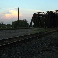 trestles to Ford Rouge railyard, Дирборн