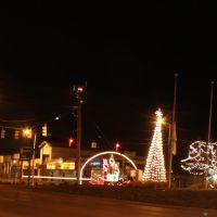 Holiday Lighting on Michigan Avenue, Inkster, Michigan, Инкстер