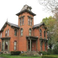 Waitling House Historic Structure, (1871), 121 North Huron, Ypsilanti, Michigan, Ипсиланти