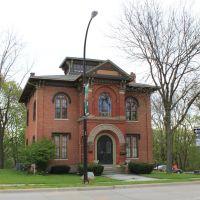 Ladies Library Historic Structure, (1858), 130 North Huron, Ypsilanti, Michigan, Ипсиланти